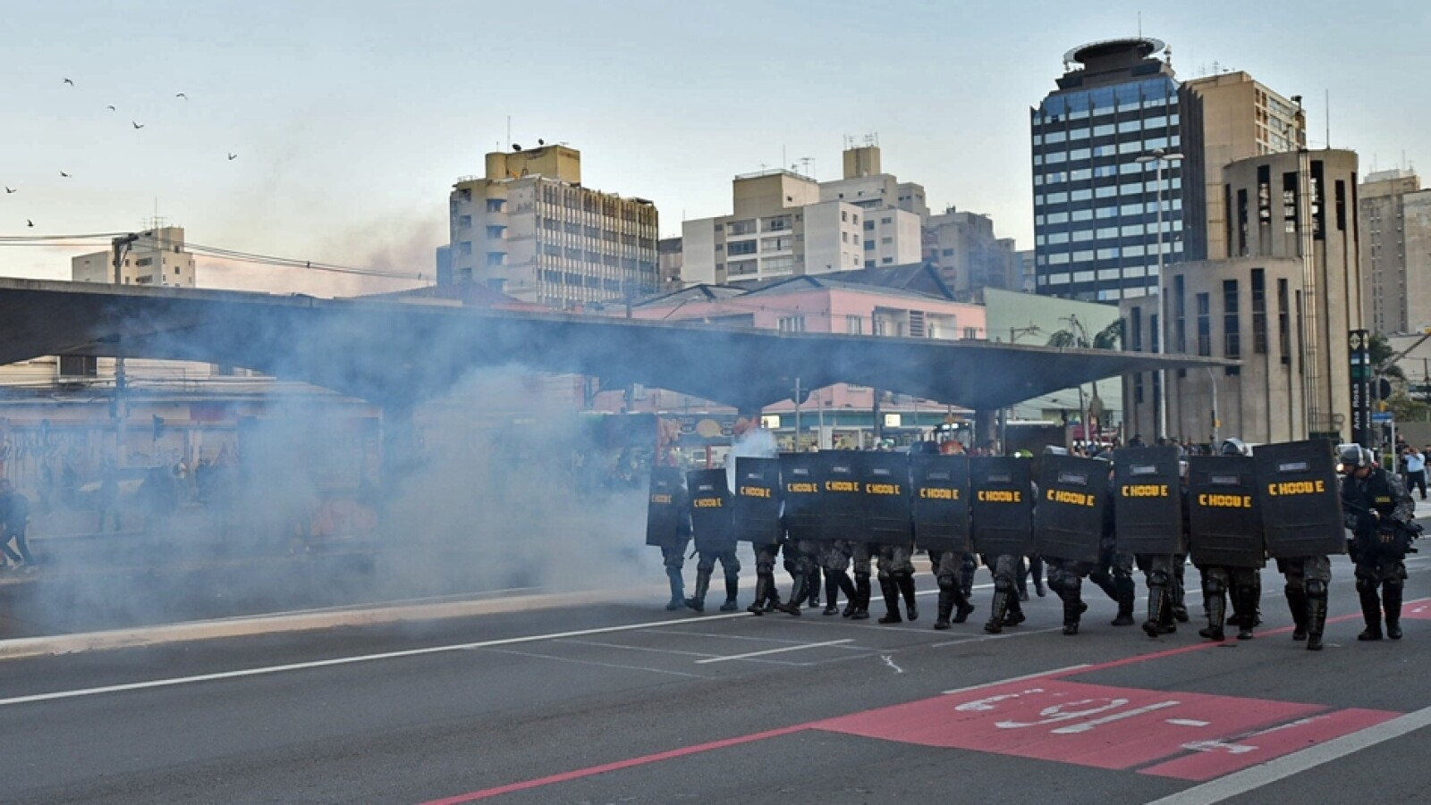 protestas Sao Paulo huelga 2