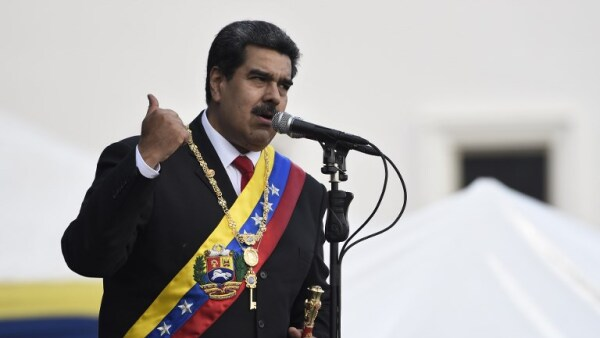 VENEZUELA-MADURO-SECOND-TERM-INAUGURATION