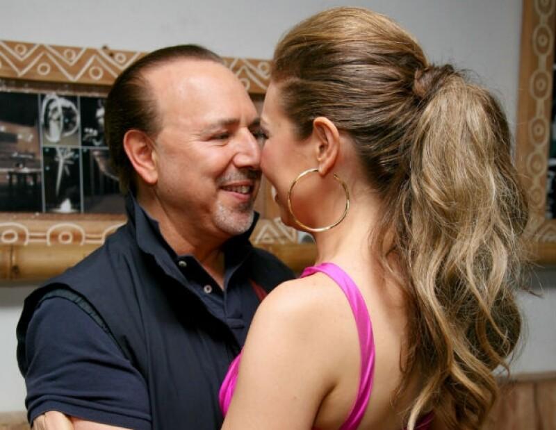 Tommy Mottola apoya a su mujer en cada uno de sus lanzamientos discográficos.