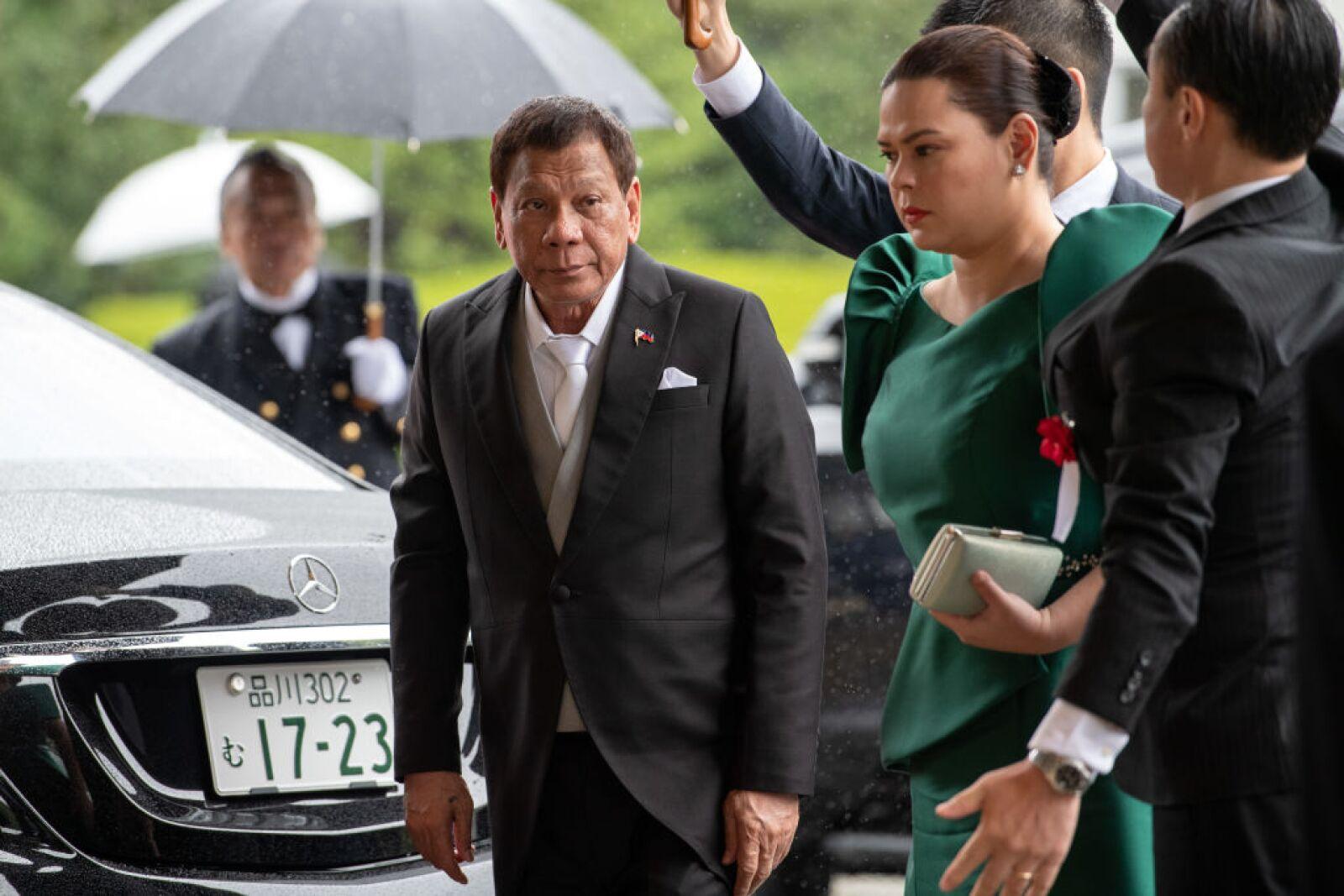 Presidente de Filipinas Rodrigo Duterte