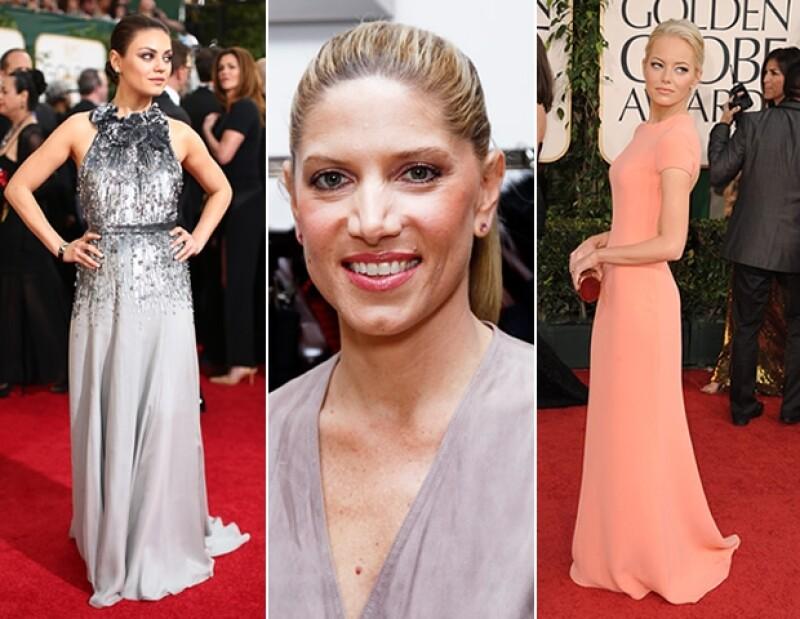 Este año asesoró a Amy Adams y Sandra Bullock durante la 86 entrega de los premios Oscar.