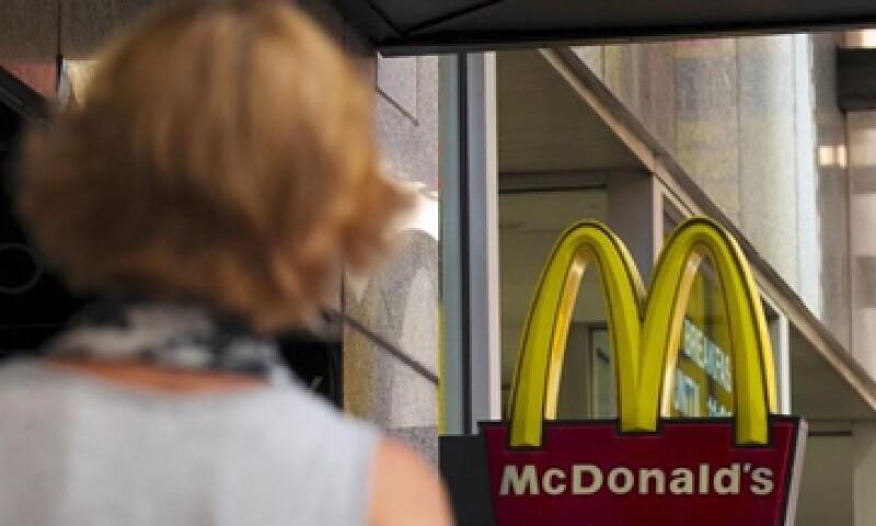 Las ventas de McDonald's subieron 0.9% sólo en Estados Unidos.  (Foto: Reuters)