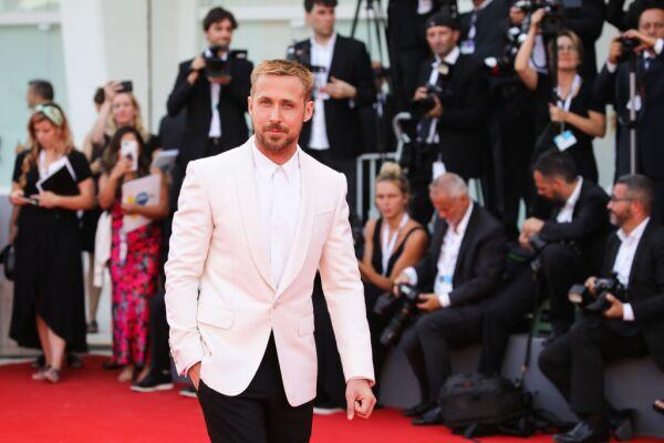 Ryan Gosling en la premiere de First Man.