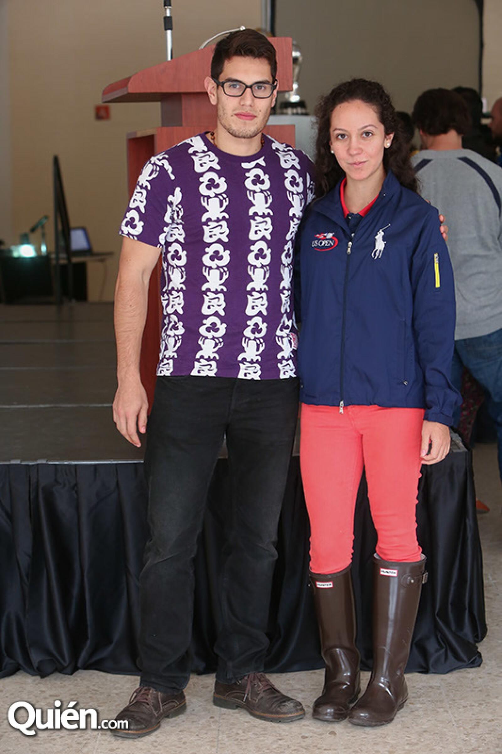 Andrés Cervantes y Ana Arévalo