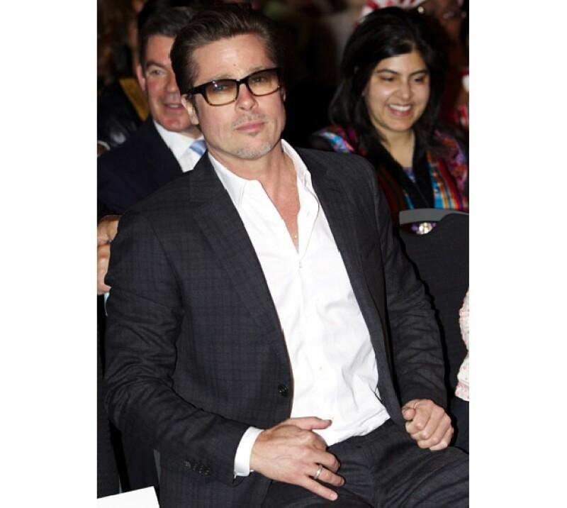 Brad Pitt busca que Estados Unidos sea la sede del Mundial 2018.