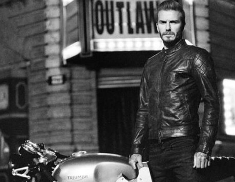 David Beckham protagoniza film de Belstaff: Outlaws.