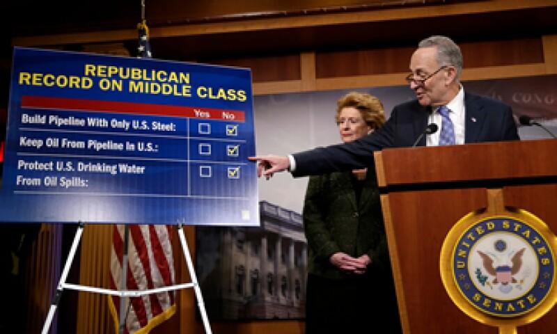 29 demócratas apoyaron el proyecto en la Cámara de Representantes. (Foto: Reuters )