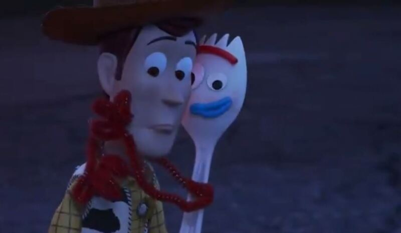 Woody y Forky