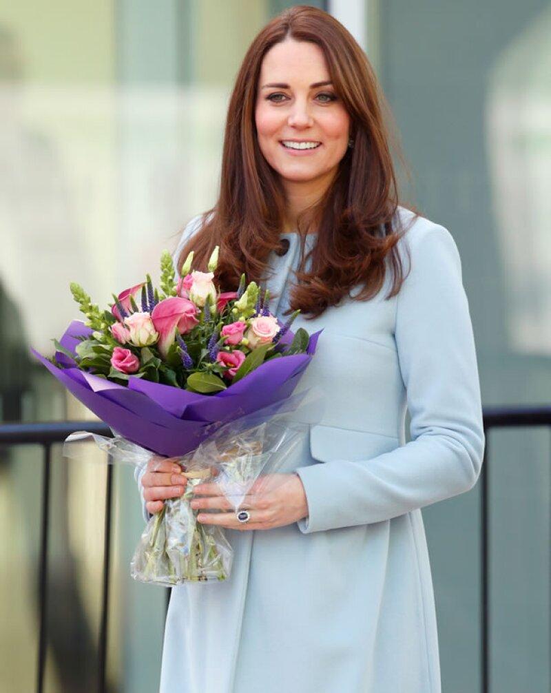 Kate Middleton ocupa el siguiente lugar en la lista.