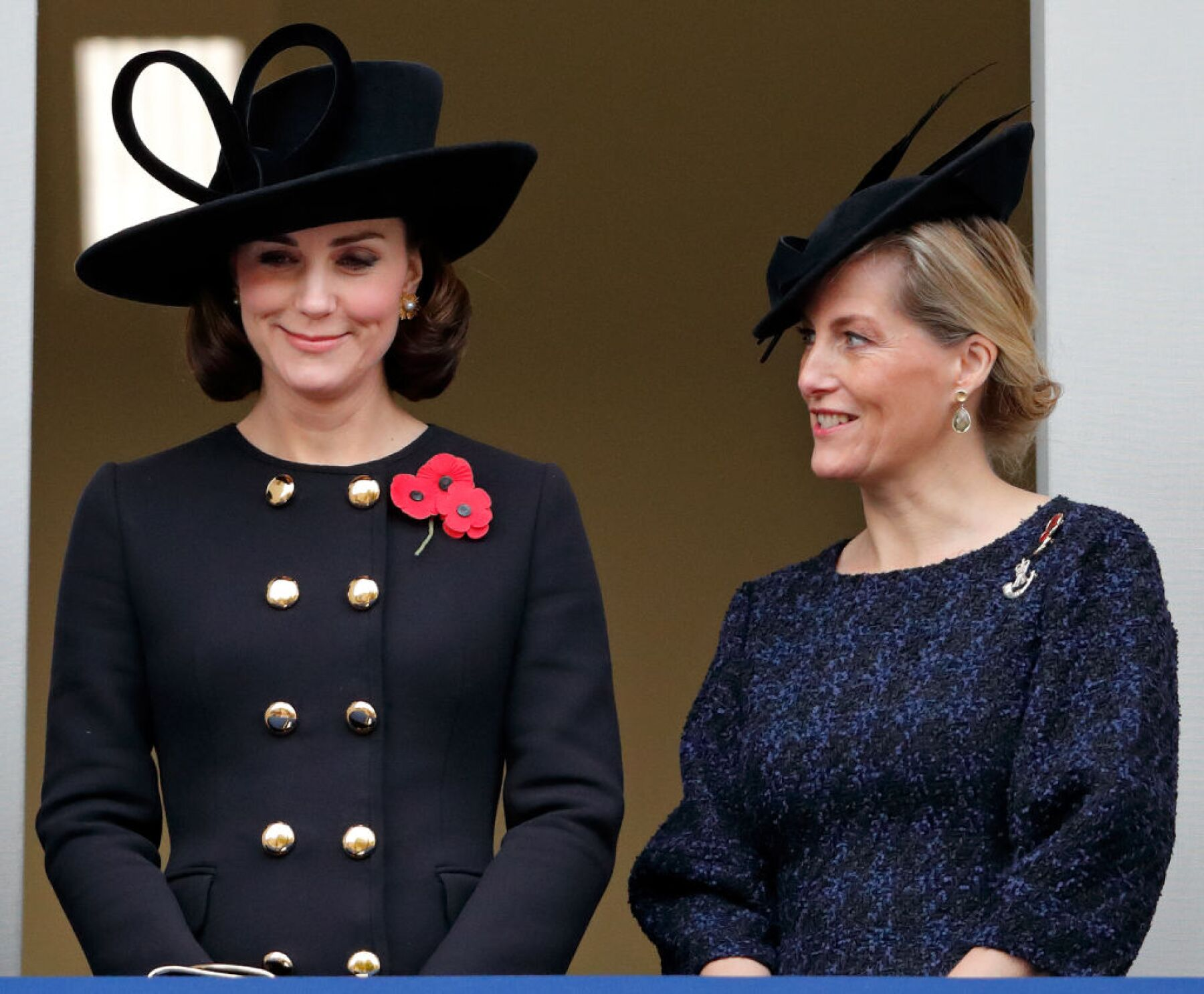Kate Middleton y la condesa de Wessex