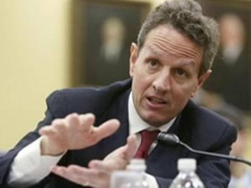 Timothy Geithner es el secretario del Tesoro de Estados Unidos. (Foto: Reuters)