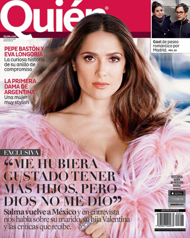 La actriz mexicana platica sobre su marido, su hija Valentina, las críticas que recibe y más previo a la presentación en nuestro país de su película &#39El Profeta&#39.