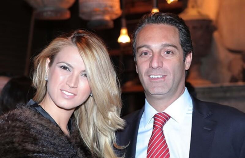 María Elena Torruco y Carlos Slim Domit