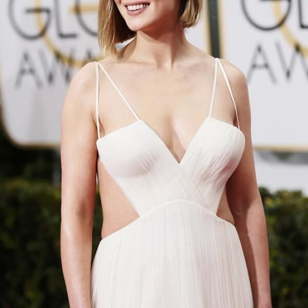 Rosamund Pike está nominada a mejor actriz por su participación en 'Gone Girl' de David Fincher