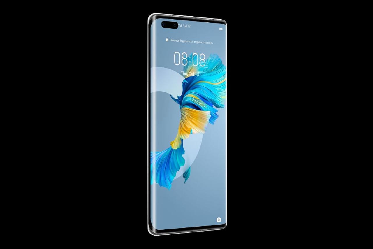 Un smartphone que te hace saltar al futuro: Huawei Mate 40 Pro