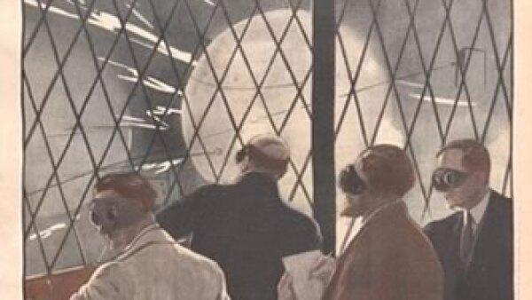 Estudio de otras alternativas energ�ticas. Cr�dito: Archivo de la Bibliot�que Nationale de France