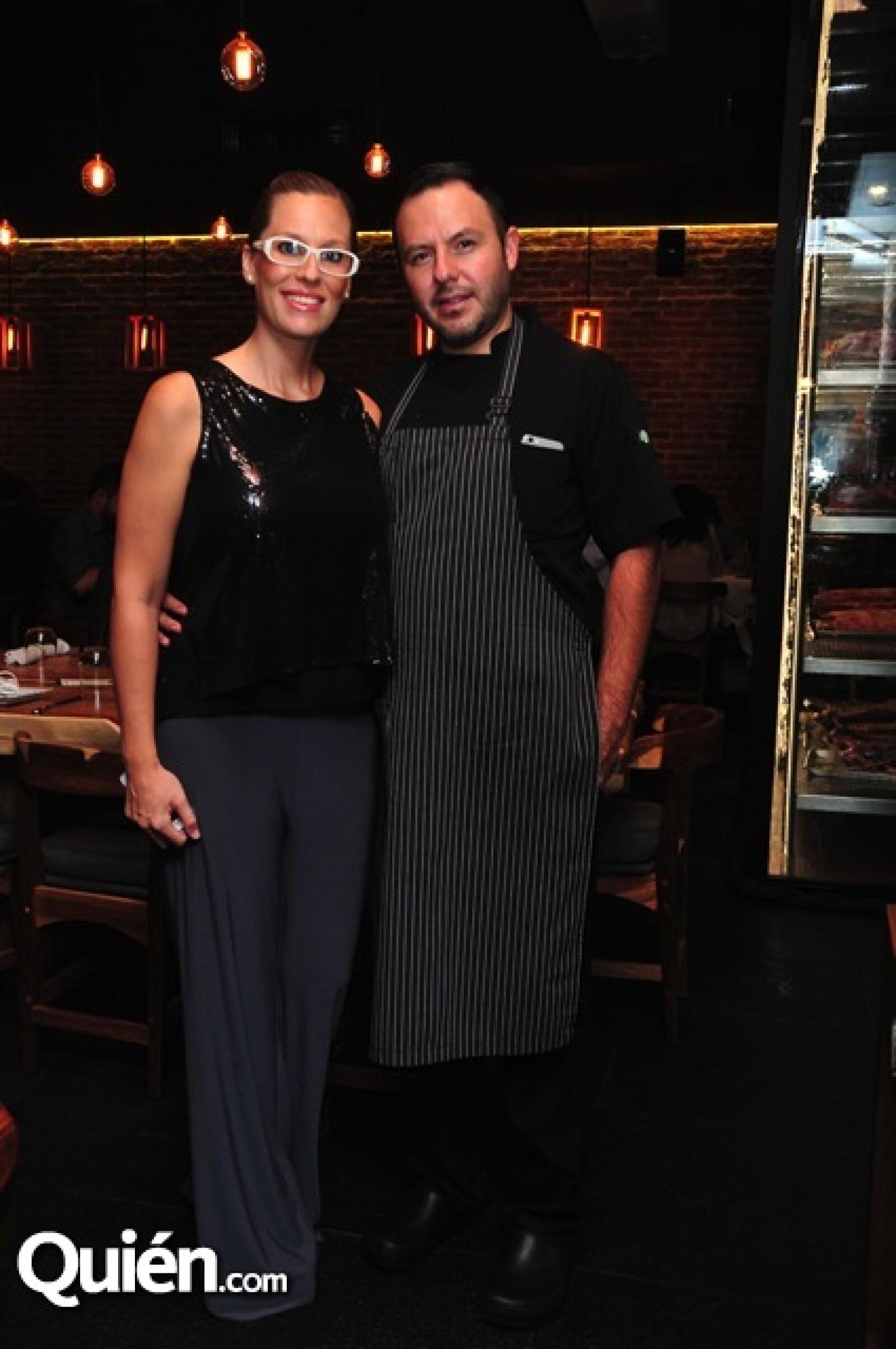 Florencia Covarrubias y Juan Pedro Navarro