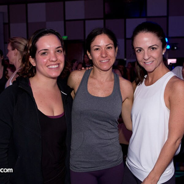 Miriam Galante, Mónica Hernández e Isabel Gutiérrez