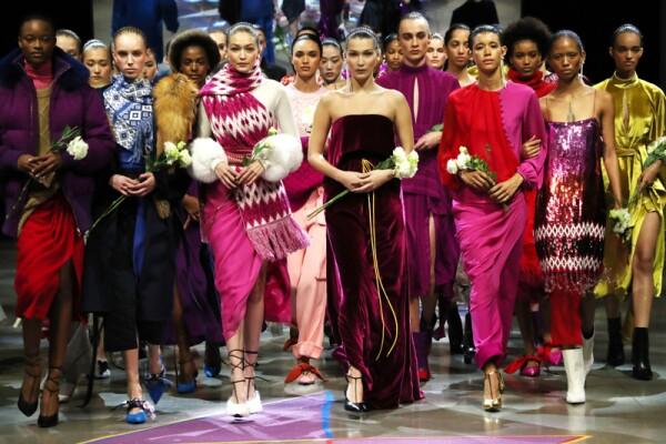 Prabal Gurung show, Runway, Fall Winter 2018, New York Fashion Week, USA - 11 Feb 2018