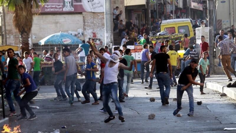 enfrentamientos entre israelies y palestinos