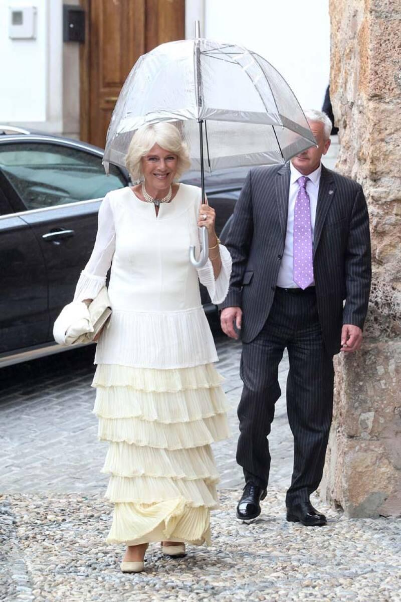 La duquesa Camila de Cornualles fue otra de las royals que asistió al evento.