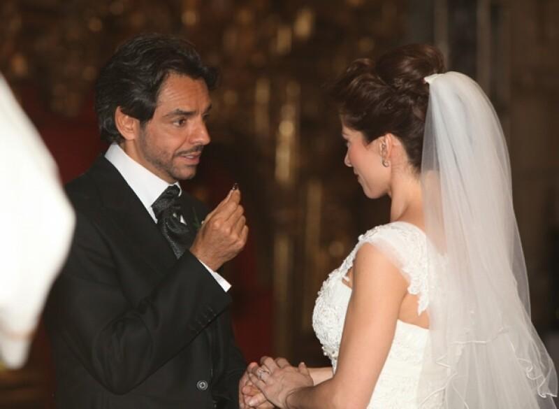 La pareja se casó el 7 de julio del 2012, acompañados de alrededor de 700 invitados.