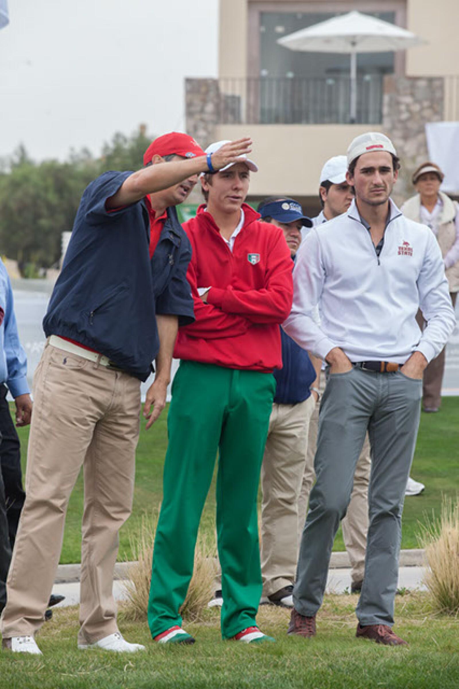 José Antonio Hernández,Carlos Ortiz y Juan Diego Praena