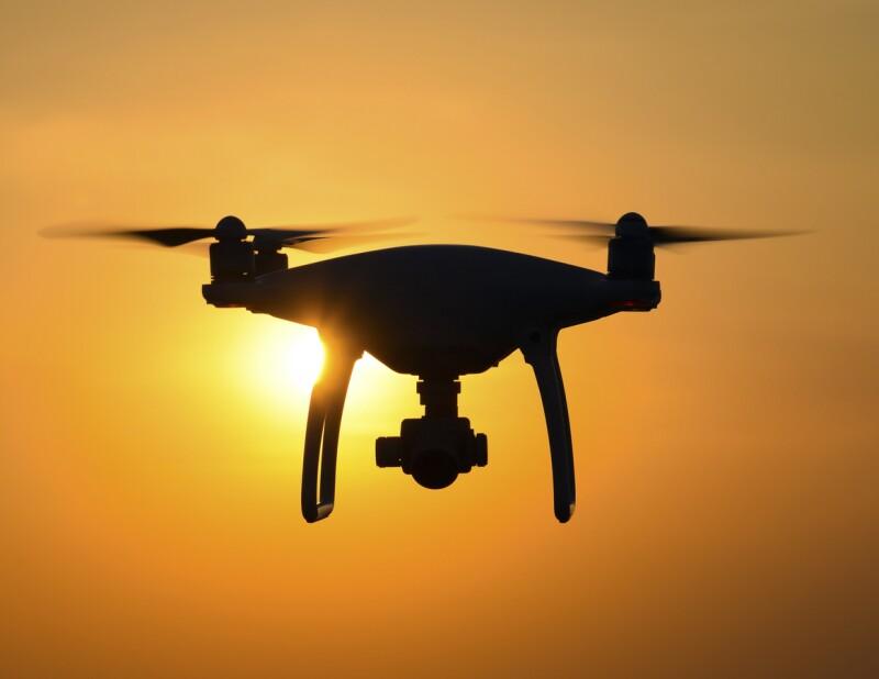 Dron con granadas