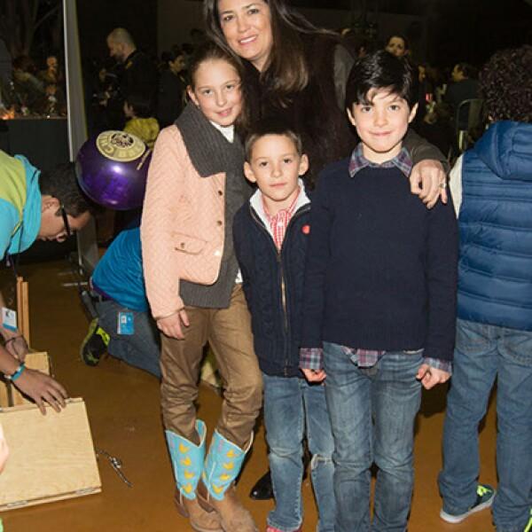 Ivette Lagos de Murat,Nadine Murat,Mariano Murillo Murat,Jose Murat