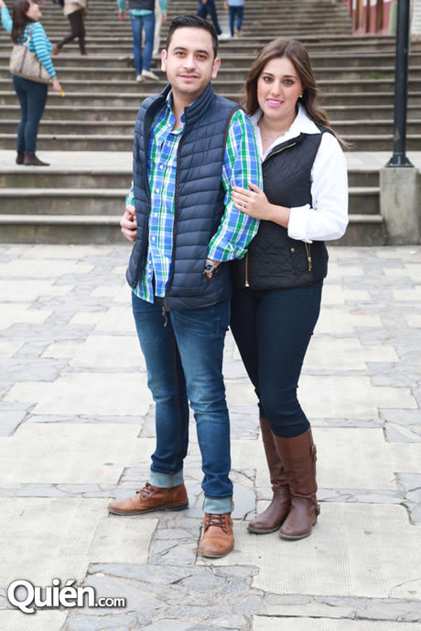 Gerardo Quesada y Daniela Ramírez