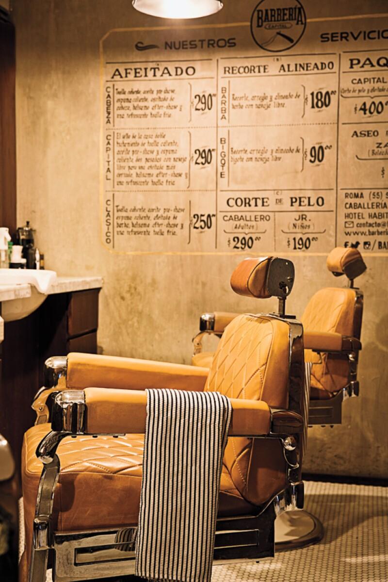 Barbería Capital cuenta con cuatro sucursales y es de las que más tiempo lleva.