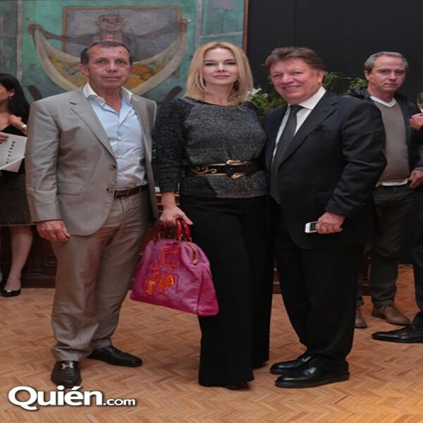 Aira Kresch, Mariarmen Ramos, Jorge Ramos