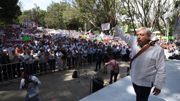 AMLO arranca gira de agradecimiento en Nayarit