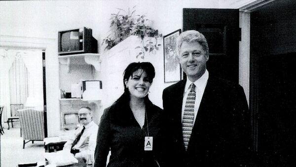 Bill Clinton y Monica Lewinsky