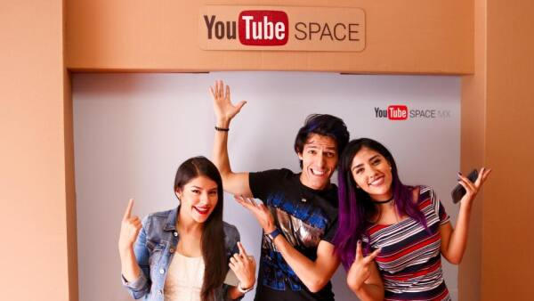 Estos tres jóvenes son parte del talento mexicano en YouTube, con millones de suscriptores en sus cinco canales temáticos.
