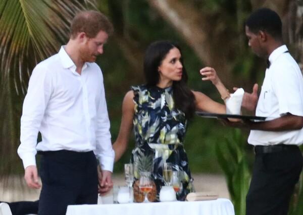 MEghan y Harry en jamaica enamorados