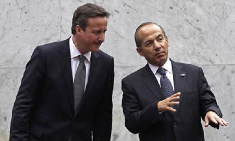 Creo que tenemos una de las economías más pujantes y México siempre ha sido muy fuerte, dijo Cameron ante empresarios. (Foto: AP)