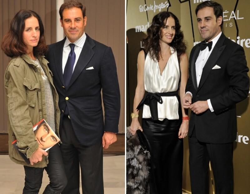 Carolina Adriana Herrera está casada con Miguel Báez `El Litri´.