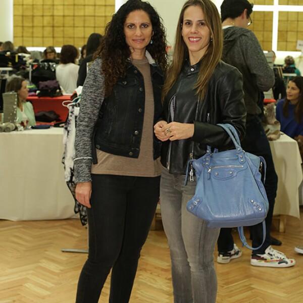 Karen Djaddah y Begoña Suárez