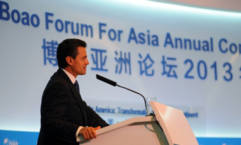 El presidente Peña Nieto participó en el Foro de Boao. (Foto: Notimex)