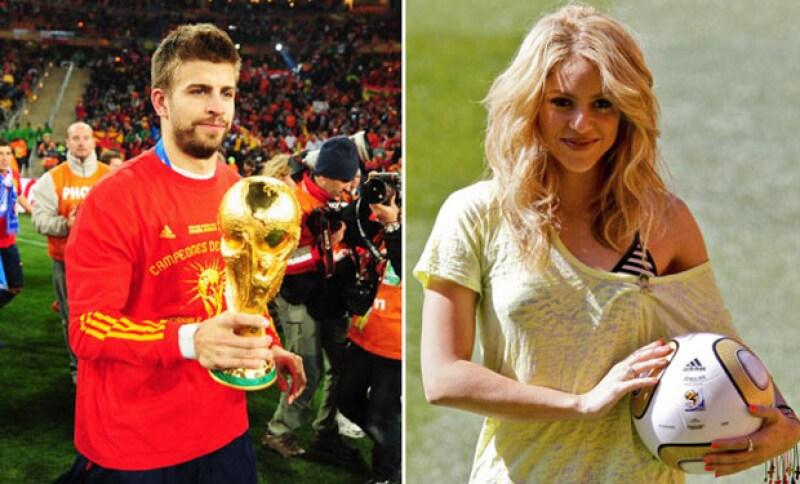 Así se veían cuando se conocieron en 2010 en la Copa Mundial, misma que fue ganada por España.