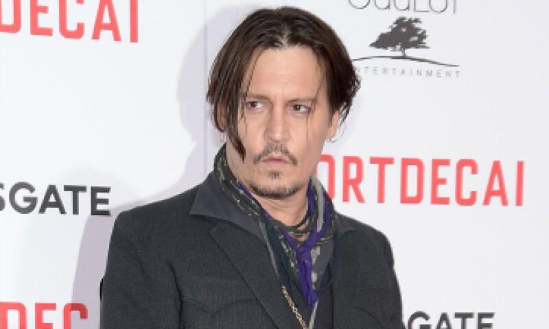 Depp se encuentra en Australia filmando una nueva entrega de la saga de Los piratas del Caribe. (Foto: Getty Images)