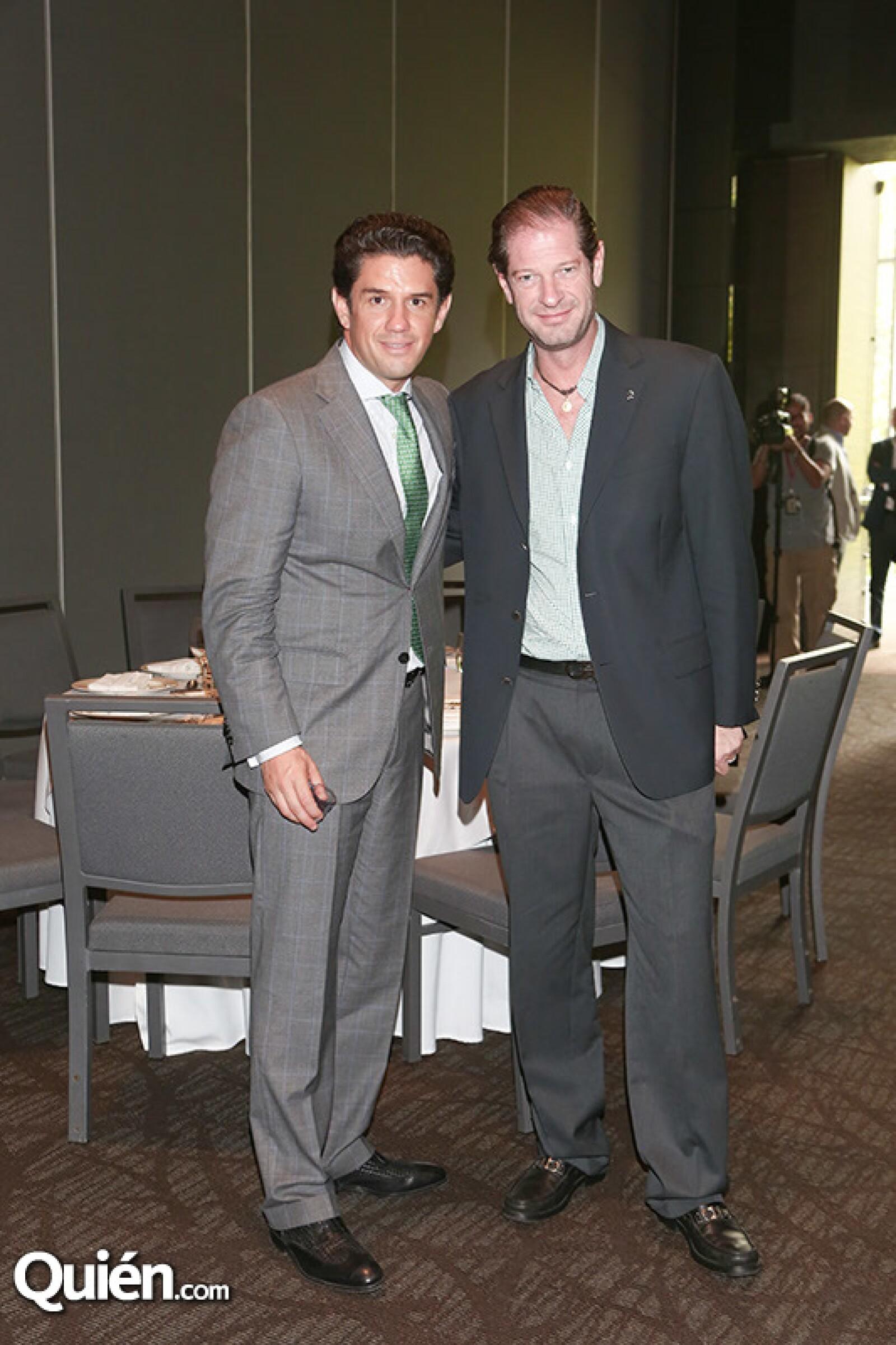 Alejandro Irarragorri y Manuel Portilla