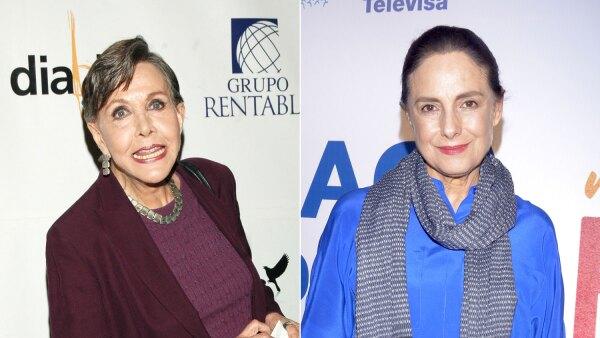 María Rubio y Diana Bracho