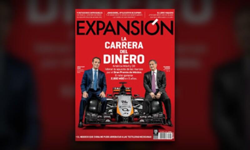 La portada de la revista Expansión, que se encuentra actualmente en circulación con el reportaje 'La carrera del dinero'. (Foto: Duilio Rodríguez)
