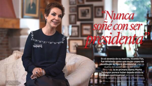 En entrevista exclusiva y desde el rancho Fox, la ex primera dama nos contó cómo es su vida lejos de Los Pinos y nos mostró la remodelación del hotel que administra.