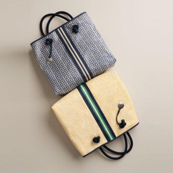 Bolsas unisex, fabricadas con diferentes materiales, funcionan como un complemento perfecto para la temporada.