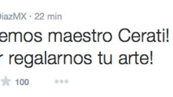Tras darse a conocer el fallecimiento del cantante argentino varios personajes del entretenimiento lamentaron la noticia y se despidieron del grande de la música en español.