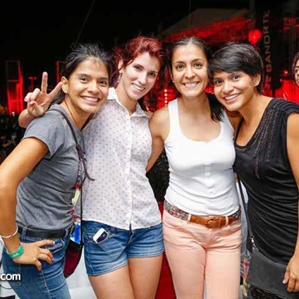 Citlali Amado,Claudia Núñez,Montserrat Argüello y Minerva Amado