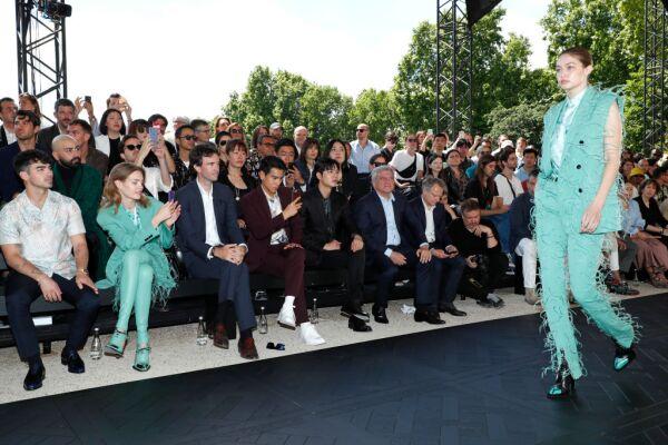 Berluti : Front Row - Paris Fashion Week - Menswear Spring/Summer 2020